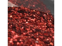 Déco de table paillettes rouge